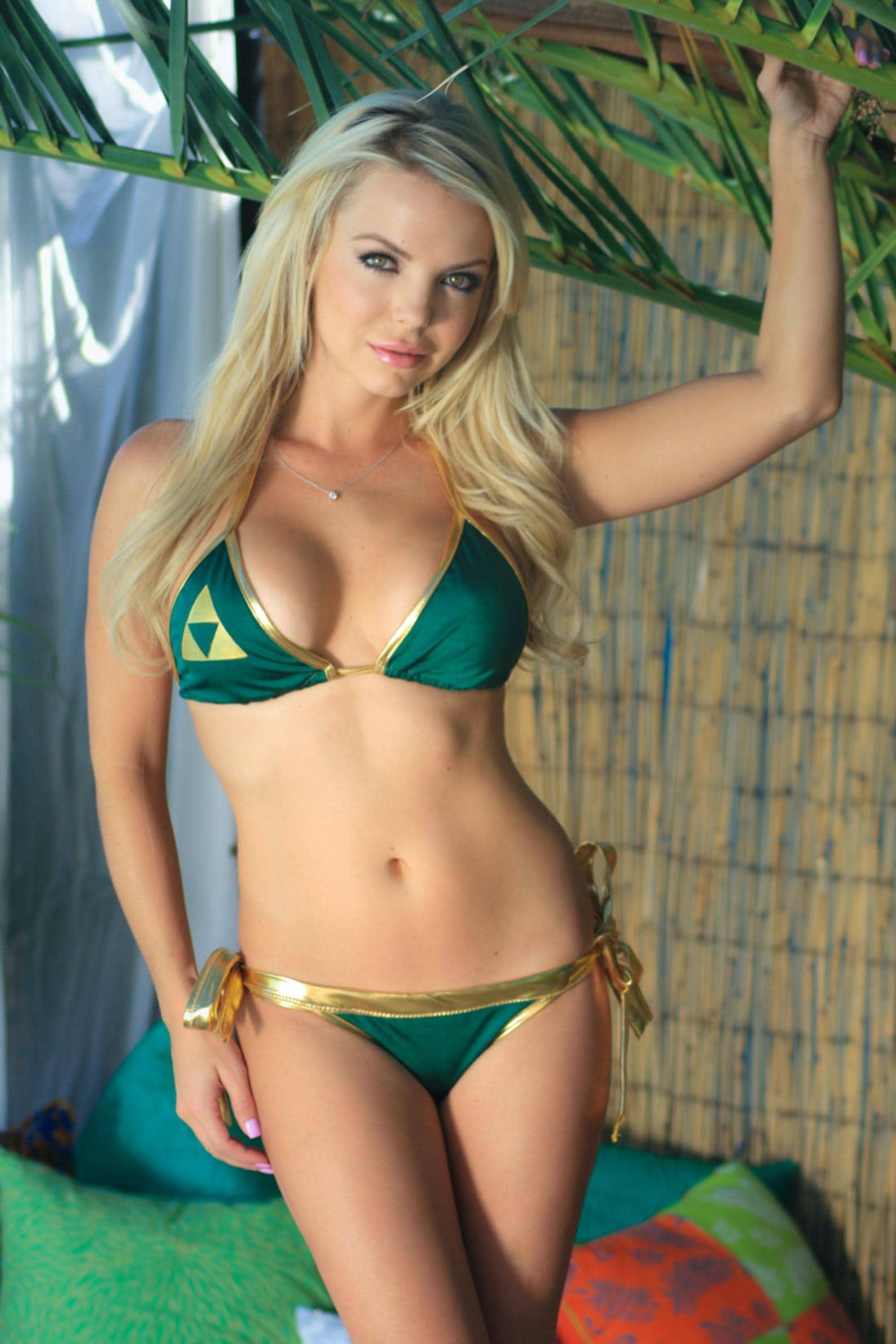 Nerdy Swim Suits - Zelda