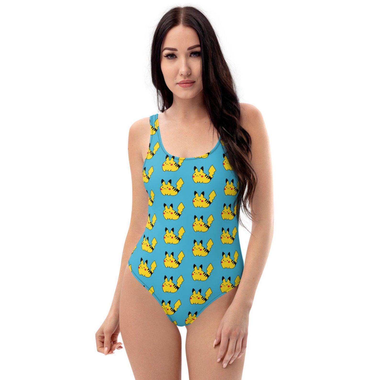 Nerdy Swimsuits - Pikachu