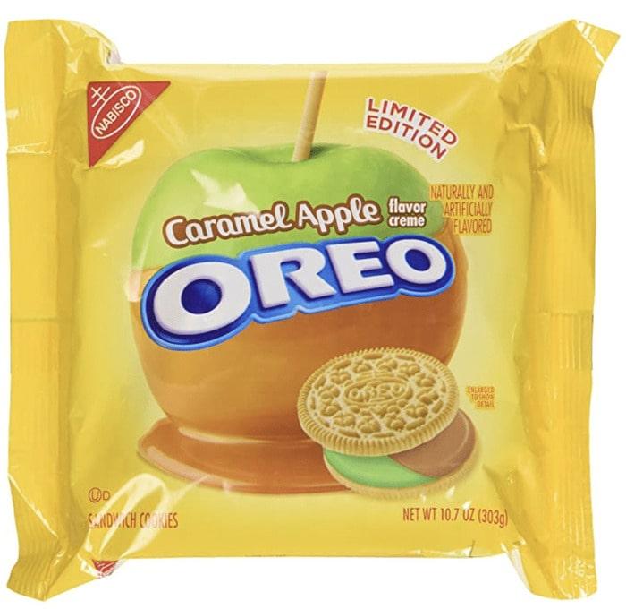 Crazy Oreo Flavors - Caramel Apple