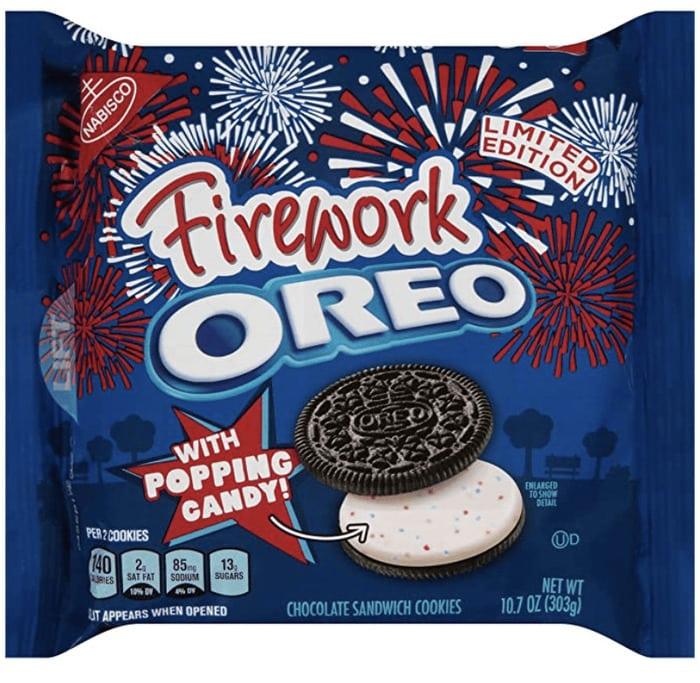 Oreo Flavors - Firework Oreo