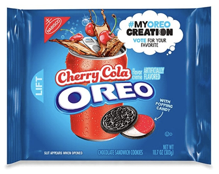Oreo Flavors - Cherry Cola Oreo