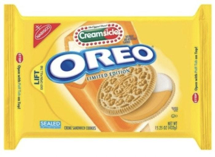 Oreo Flavors - Creamsicle