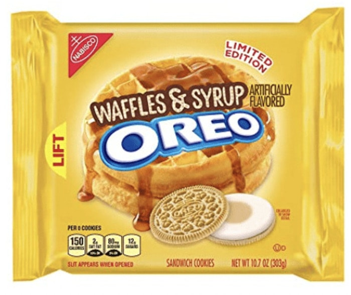 Oreo Flavors - Waffle and Syrup Oreo