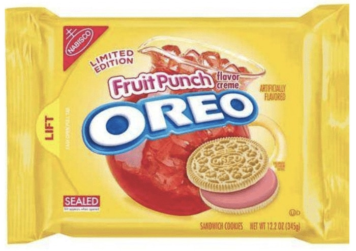 Oreo Flavors - Fruit Punch Oreos