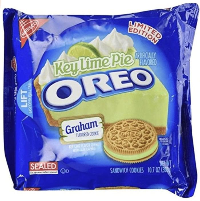 Oreo Flavors - Key Lime Pie Oreo