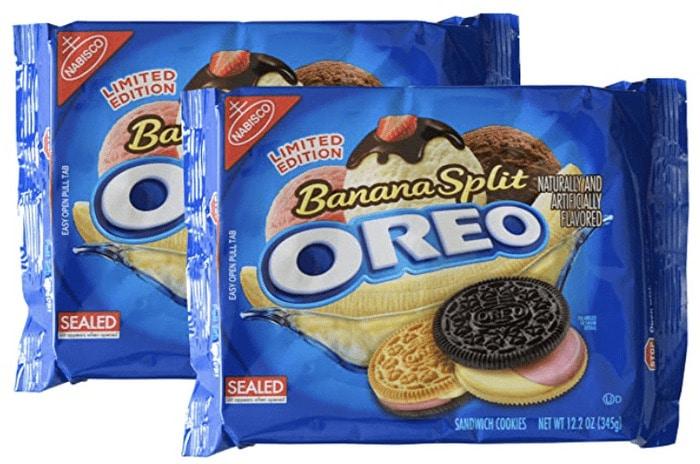 Oreo Flavors - Banana Split Oreo