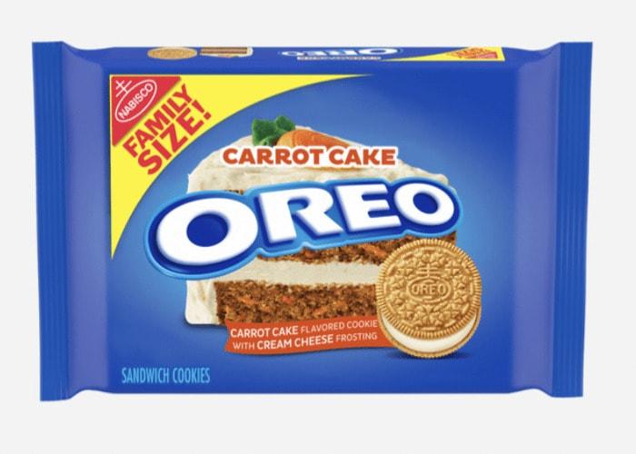 Oreo Flavors - Carrot Cake