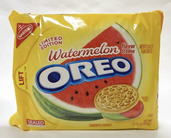 Oreo Flavors - Watermelon Oreo
