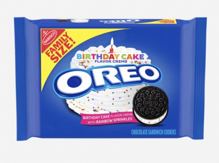 Oreo Flavors - Birthday Cake Oreo