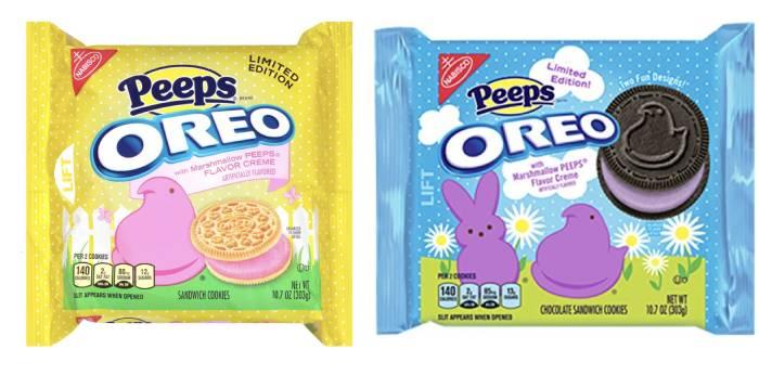 Oreo Flavors - Peeps Oreos