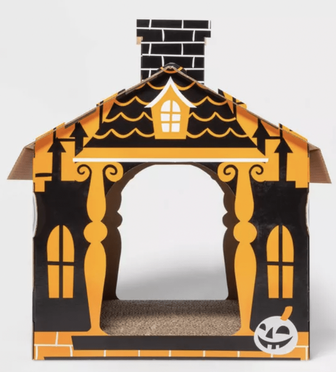 Target Halloween Cat Scratcher - Basic Haunted House
