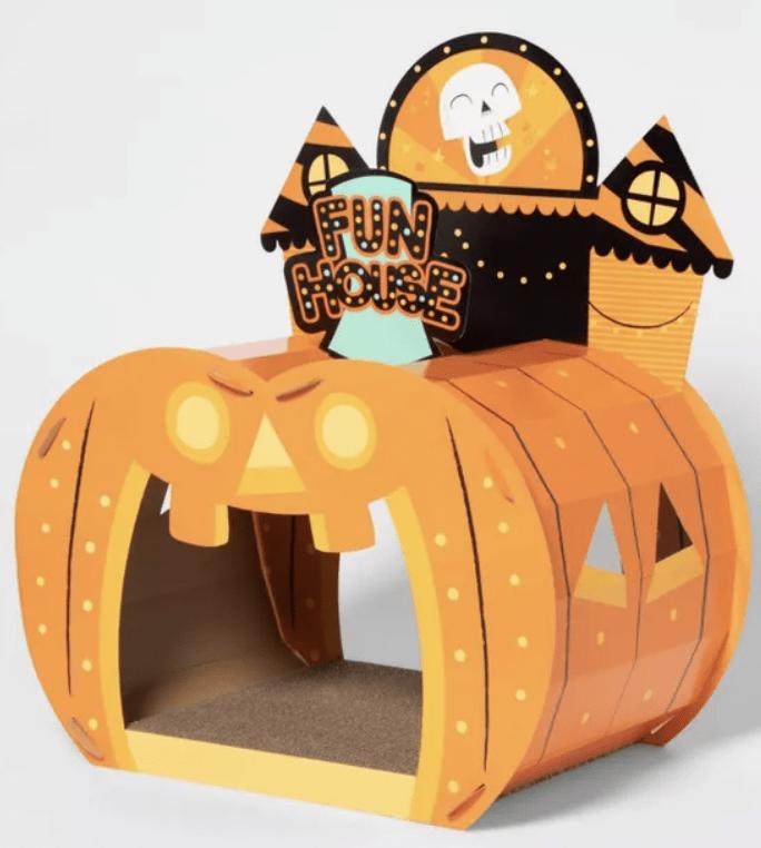Target Halloween Cat Scratcher - Fun House Cat Scratcher