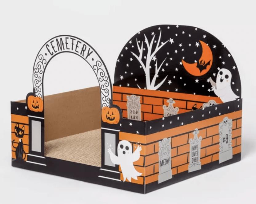 Target Halloween Cat Scratcher - Graveyard Cat Scratcher