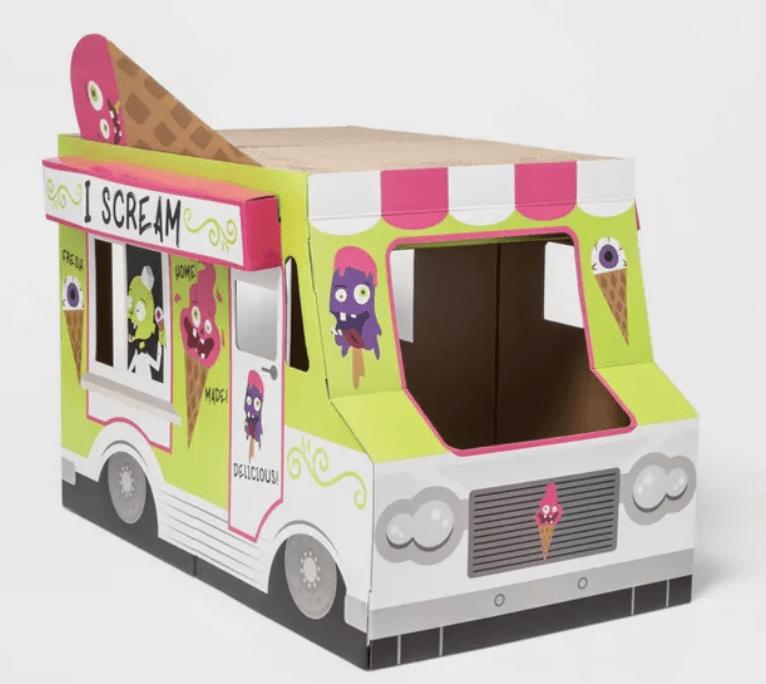 Target Halloween Cat Scratcher - Ice Cream Truck Cat Scratcher