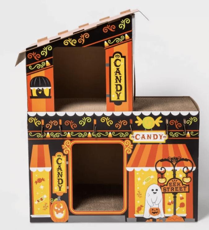 Target Halloween Cat Scratcher - Treat Boutique Candy Shop Cat Scratcher