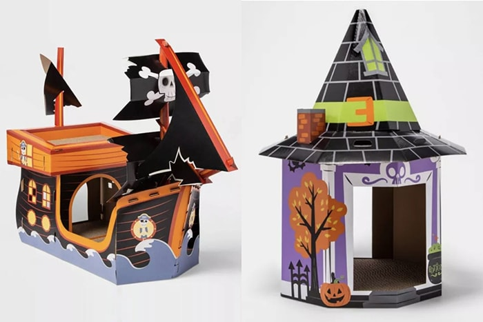 Target Halloween Cat Scratchers - Pirate Witch House