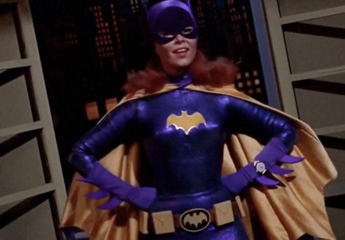 Batgirl Facts - Batgirl in purple