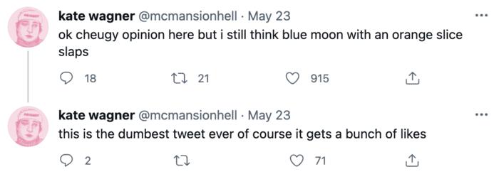 Cheugy Tweets - cheugy blue moon