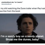 Dune Tweets - sandy boy