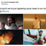 Dune Tweets - Oscar Isaac Space Daddy