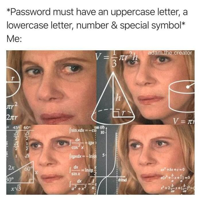 Funny Memes - Math Lady / Confused Lady