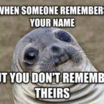 Funny Memes - Awkward Moment Seal