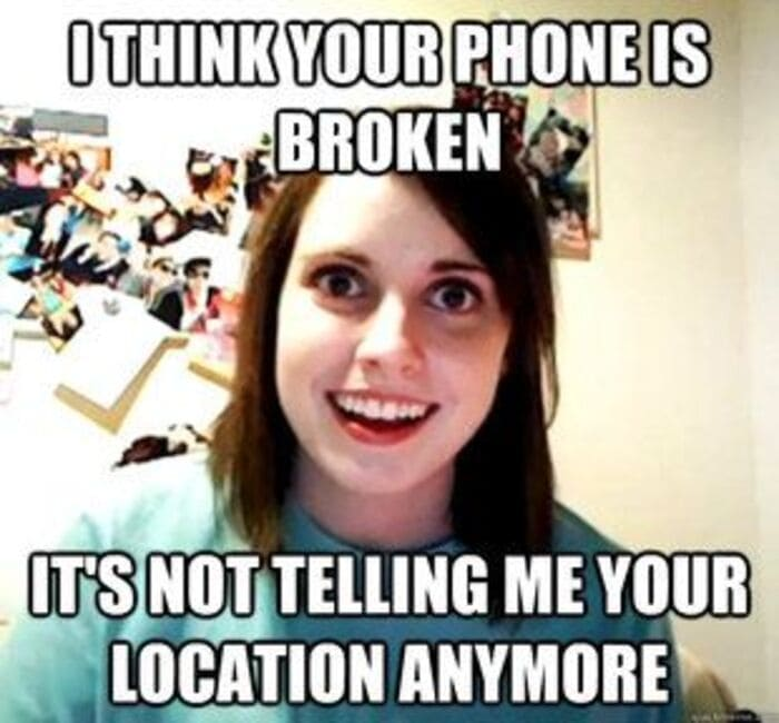 Funny Memes - Overly Attached Girlfriend