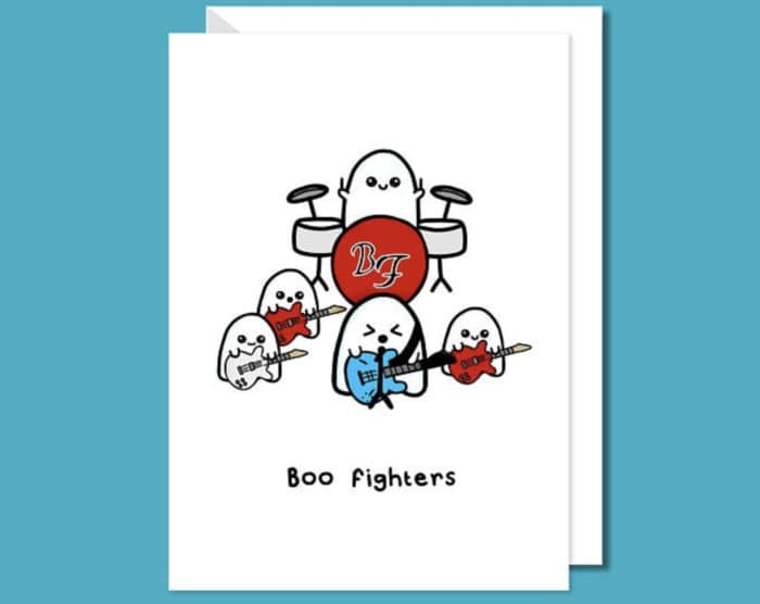 Ghost Puns - Boo Fighters Card
