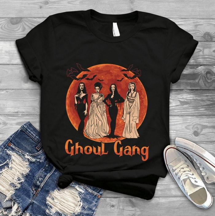 Ghost Puns - ghoul gang tee