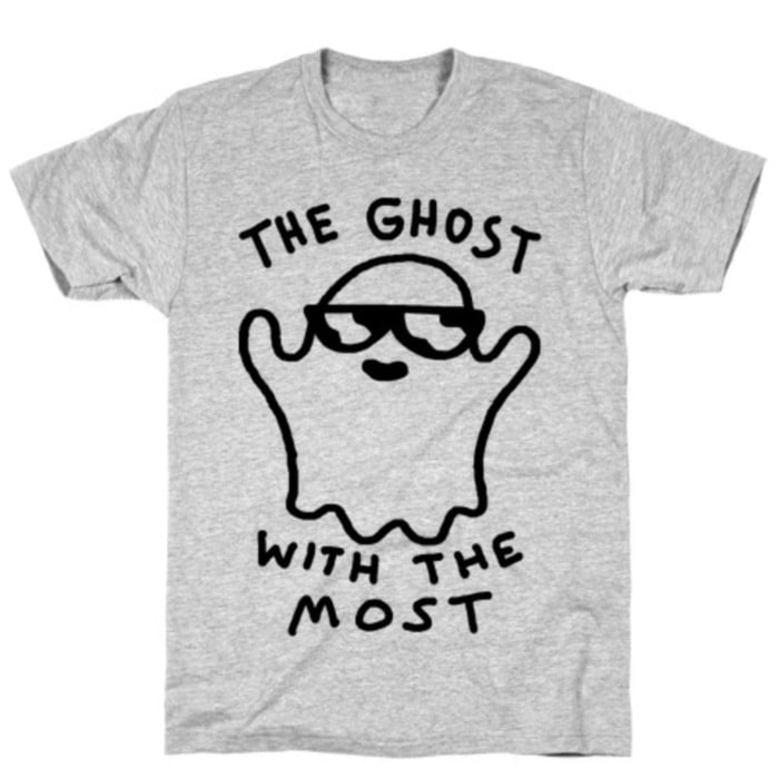 Ghost Puns - ghost with the most tee