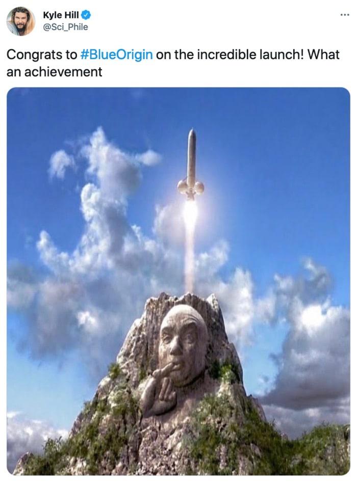 Jeff Bezos Space Tweets - Austin Powers