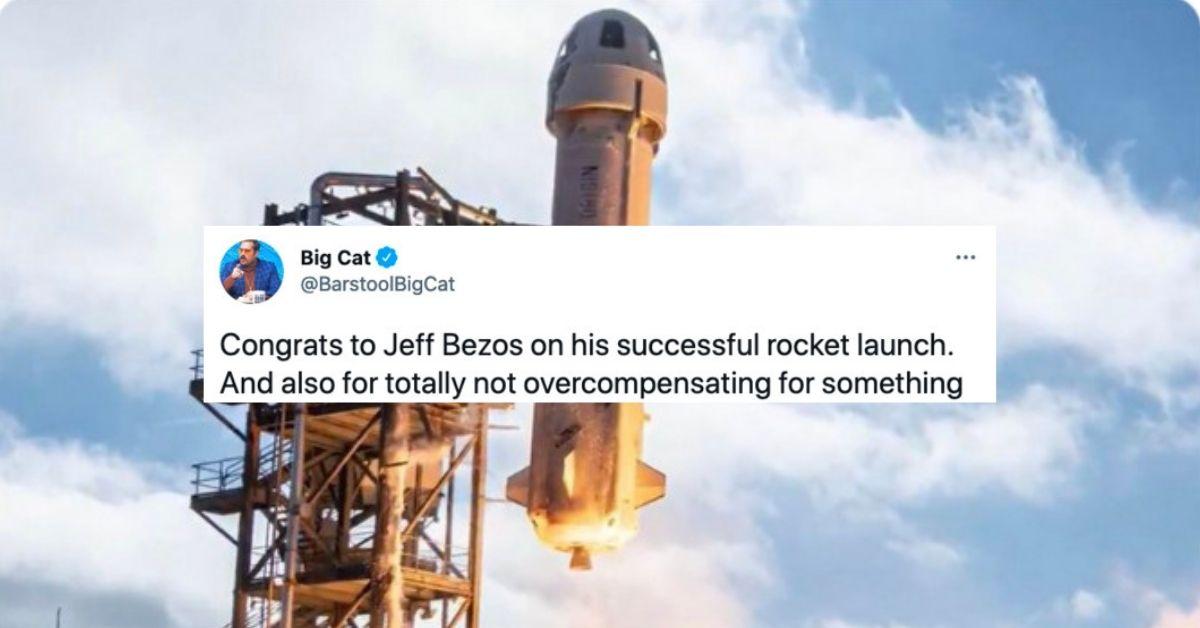 Jeff Bezos Space Tweets