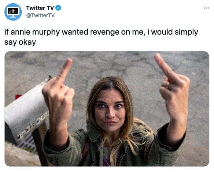 Kevin Can F Himself Tweets - Annie Murphy revenge