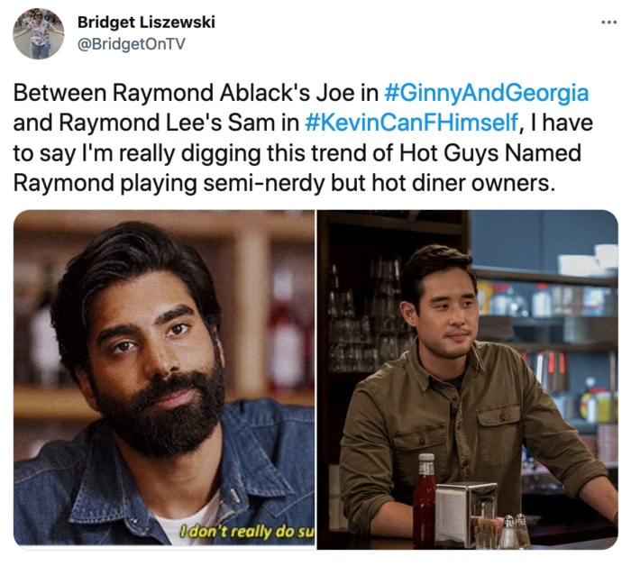 Kevin Can F Himself Tweets - Raymond hot diner owner