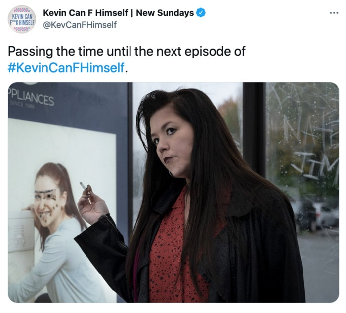 Kevin Can F Himself Tweets - passing the time
