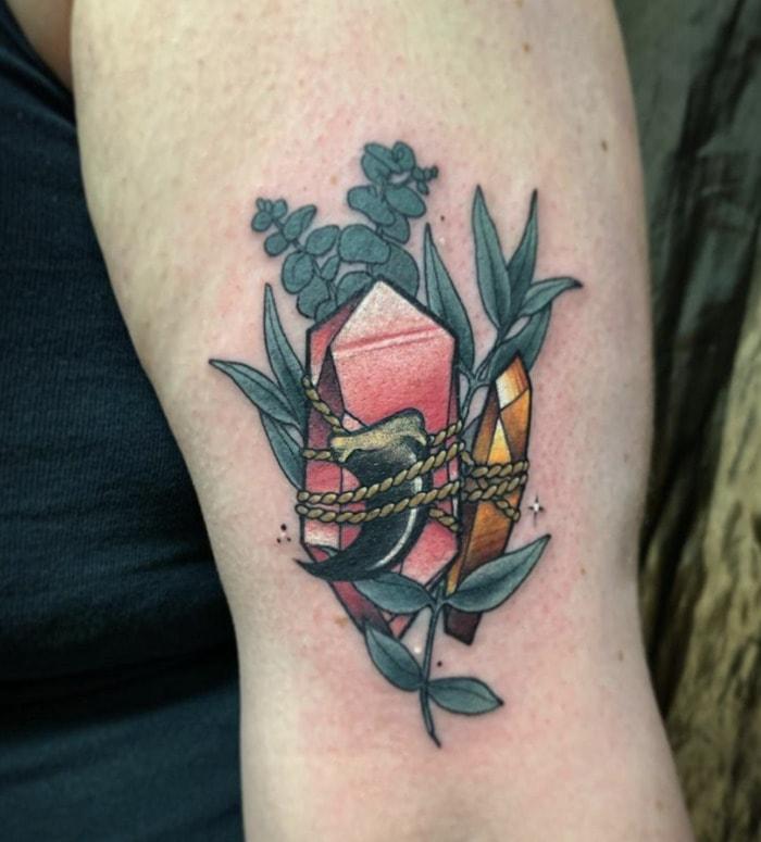 Leo Tattoo - Leo crystal bundle ink
