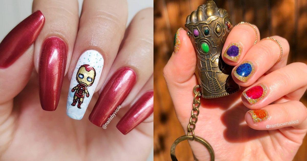 Marvel Nails