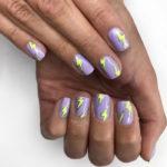 Purple Nail Designs - Flame Nails