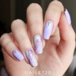 Purple Nail Designs - amethyst nails