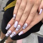 Purple Nail Designs - U ok hun? nails