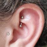 Rook Piercing - piercing in ear