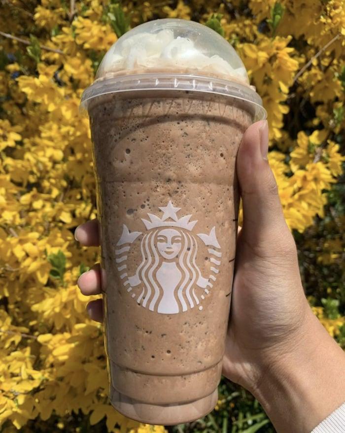 Starbucks Secret Menu Frappuccinos - Cadbury Egg Frap