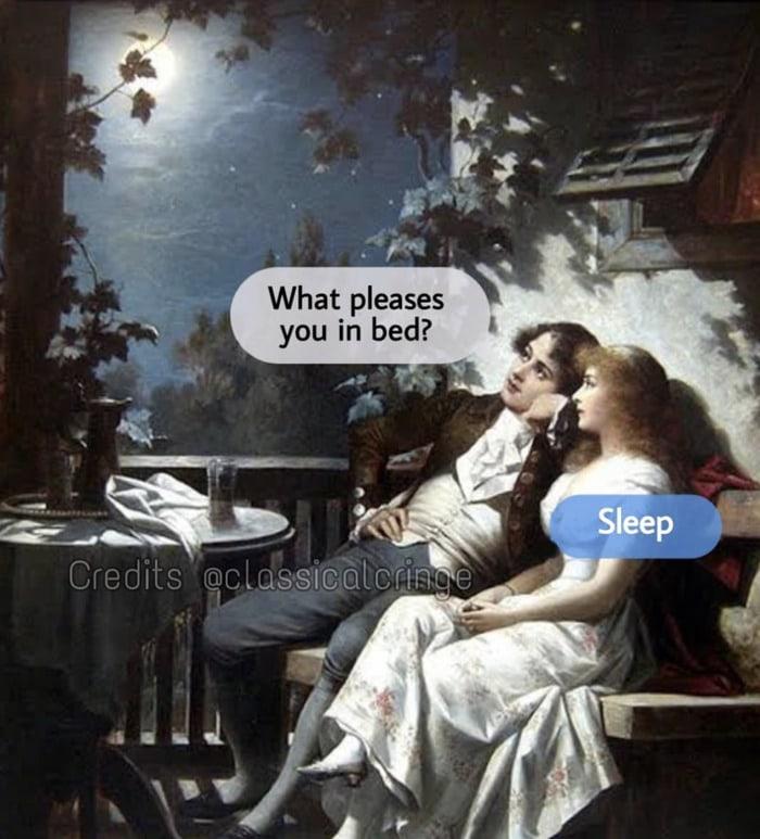 Art Memes - couple in moonlight