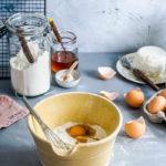 Baking Powder vs Baking Soda - Mixing Bowl with Ingredients