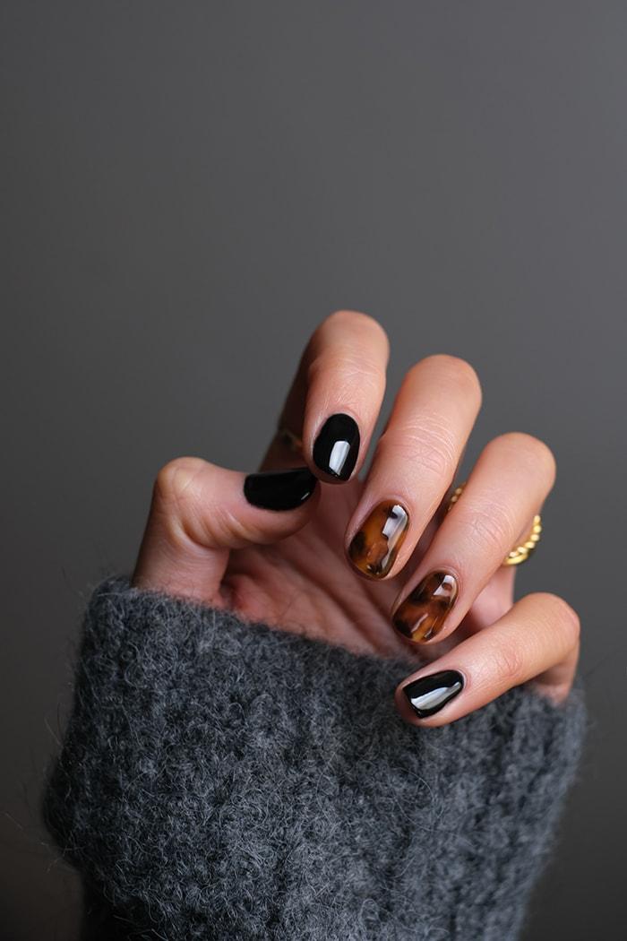 Gel Nails - Tortoiseshell