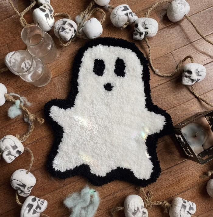 Ghost Rugs - mini ghost rug