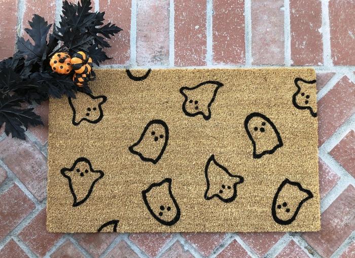 Ghost Rugs - minimalist ghosts