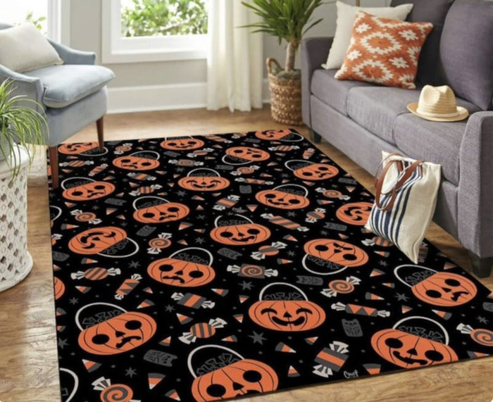 Ghost Rugs - pumpkins