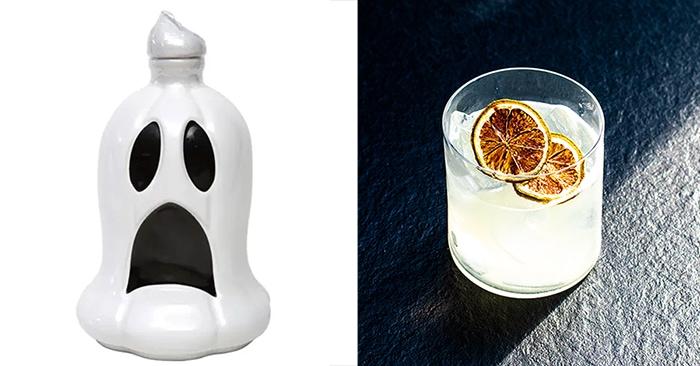 Ghost Tequila Bottle