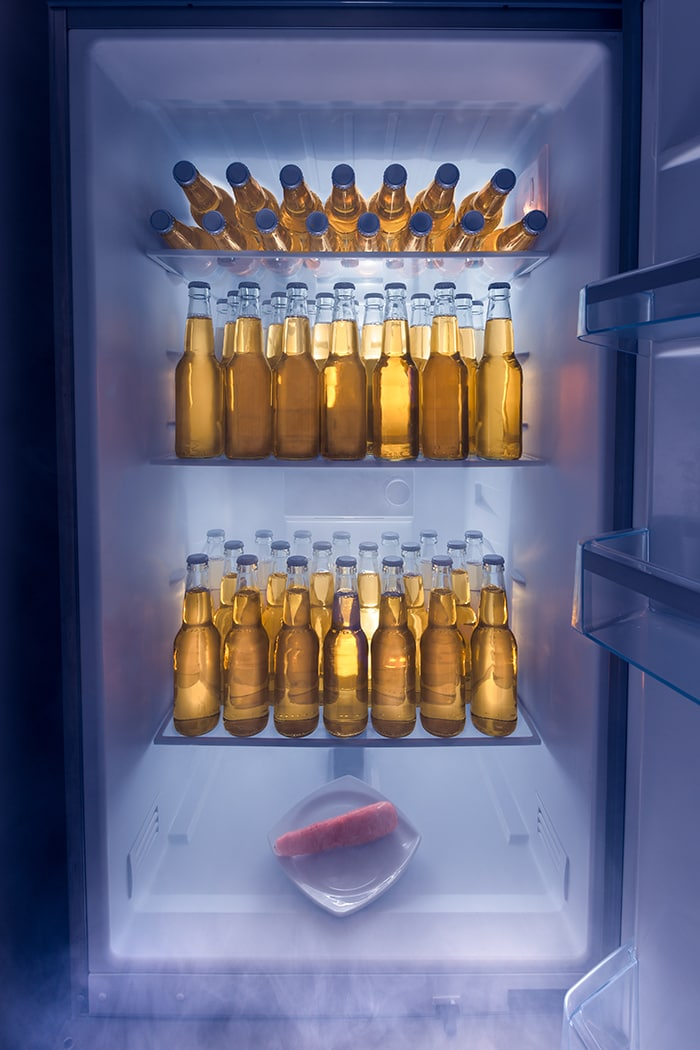 How to Chill Beer Fast - Freezer